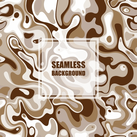 Abstract seamless pattern. Vector Illustration with spot elements EPS10.