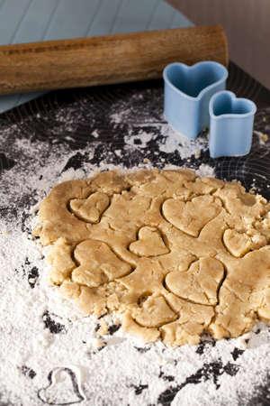 galletas de jengibre: cocinar galletas de jengibre del coraz�n