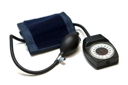 isolated closeup medicine tonometer for taking blood pressure photo