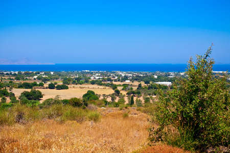 dodecanese: beautiful view of the Kos town, the capital of Kos island, Dodecanese