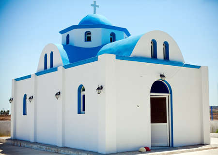 dodecanese: beautiful small church somewhere on island Kos, Dodecanese, Greece