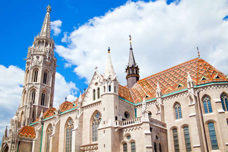 castle district: Matthias Church in the Castle District of Buda section of Budapest, Hungary