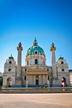 st charles: Chiesa di San Carlo (Karlskirche) a Vienna, un esempio di architettura barocca