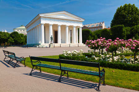 Theseus temple in park Volksgarten in Vienna, Austria Stock Photo - 24239865