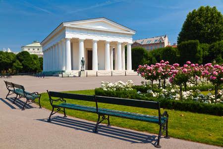 Theseus temple in park Volksgarten in Vienna, Austria Stock Photo - 24239865
