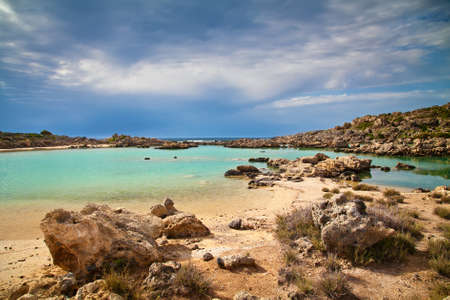advancing: the storm is advancing towards Aspri Limni, Crete, Greece