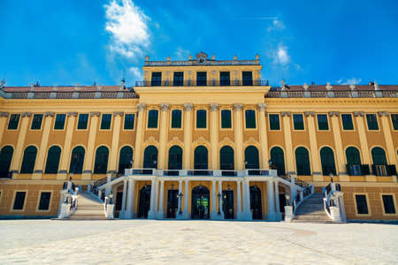 nbrunn: well-known Schönbrunn palace in Vienna, Austria
