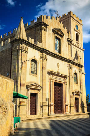 the godfather: Church of St. Nicolo in Savoca, Sicily. This is a shooting location for Godfather - in this church Michael was married