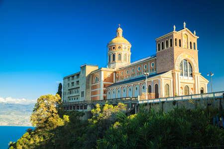 Famous landmark of Sicily - Black Madonna Church in Tindari