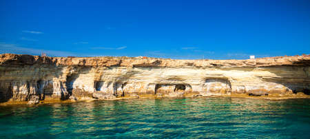 place of interest: sea caves near Ayia Napa - a place of interest at Cape Greco, Cyprus