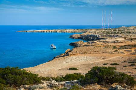 greco: natural park Cape Greco near Ayia Napa, Cyprus
