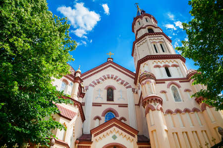 gothic architecture: one of the oldest examples of Gothic architecture in Lithuania - St. Nicholas Church in Vilnius