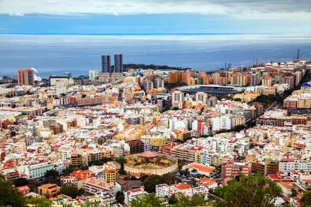 santa cruz de tenerife: aerial view of Santa Cruz de Tenerife, Canary Islands, Spain