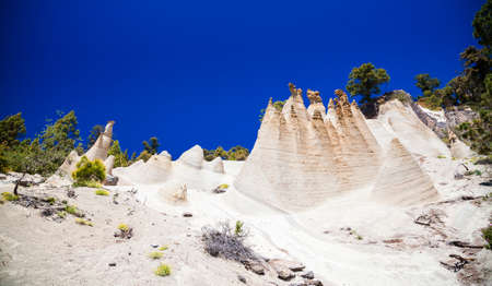 beautiful Paisaje Lunar with great erosion in Tenerife, Canary Islands, Spain