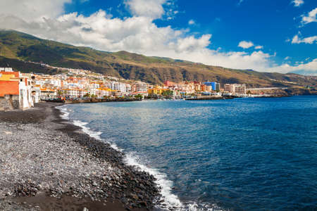 seafronts: seafront in the small town Candelaria, Tenerife, Canary Islands, Spain