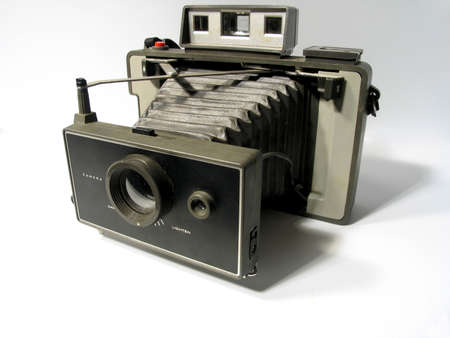 Vintage instant camera Stock Photo