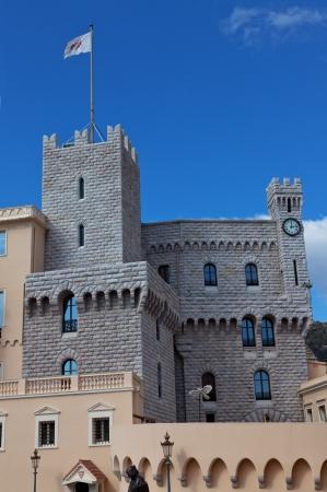 Clock Tower of Prince Palace of Monaco photo