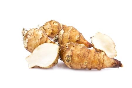 sunroot tubers or jerusalem artichoke  Helianthus tuberosus