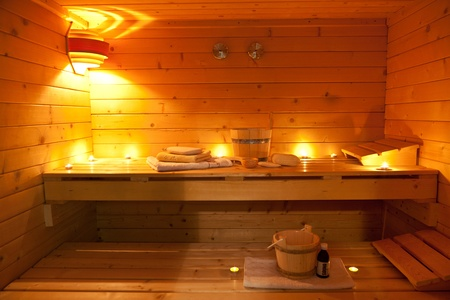 traditional wellness: sauna and sauna accessories