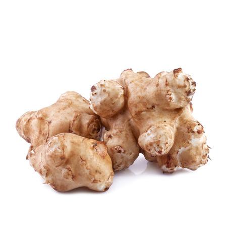 jerusalem artichoke (Helianthus tuberosus) Standard-Bild