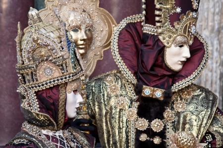 Carnival masks, Venice, Italy photo