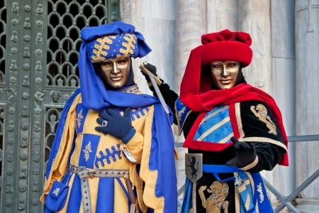 Carnival masks-Venice-Italy photo