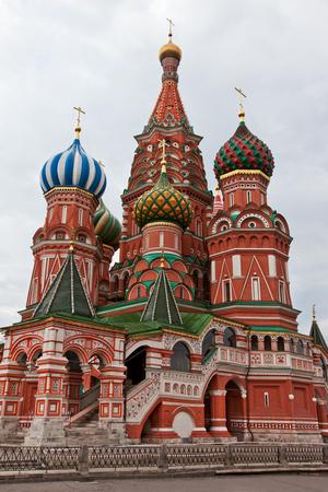 red square moscow: Catedral de San Basils en la Plaza Roja, Mosc�, Rusia