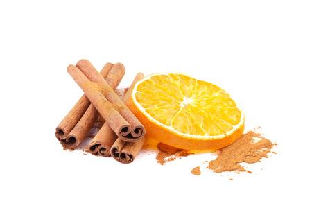 orange slice: kaneel en sinaasappel schijfje