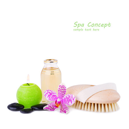 Spa Concept image with Free space for your Text photo