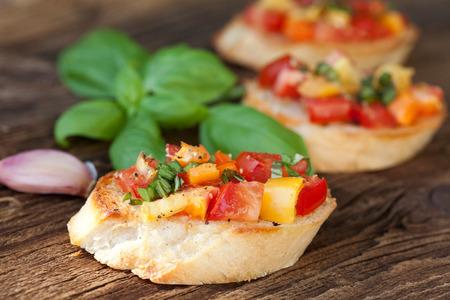 İtalyan mutfağı: Italian Cuisine Bruschetta