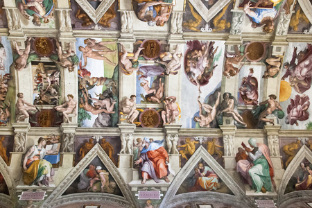 Sistine Chapel ceiling Editorial