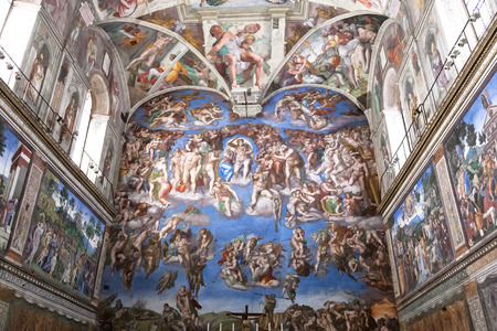 The Last Judgement, Sistine Chapel