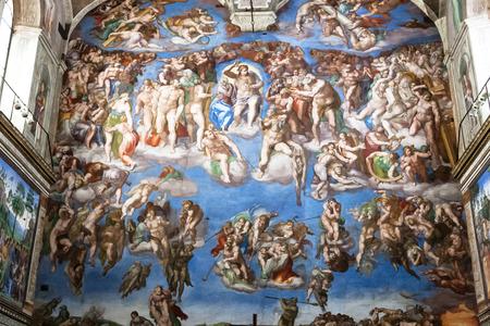 michelangelo: The Last Judgement, Sistine Chapel