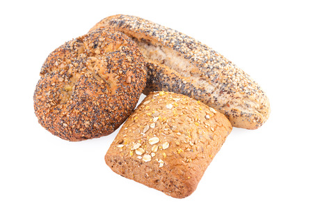 bakery products: whole wheat buns