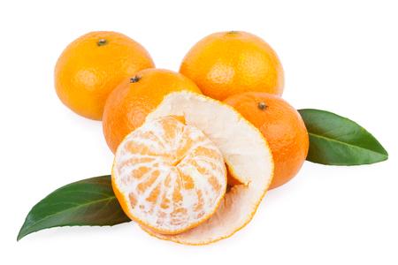 tangerine fruits photo