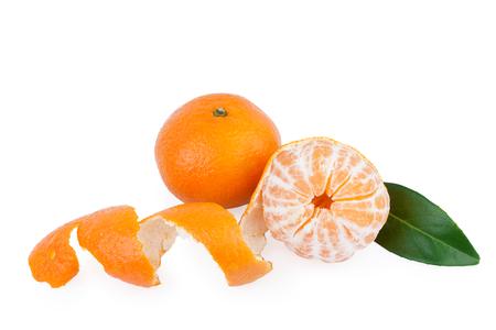 tangerine or mandarin fruits photo