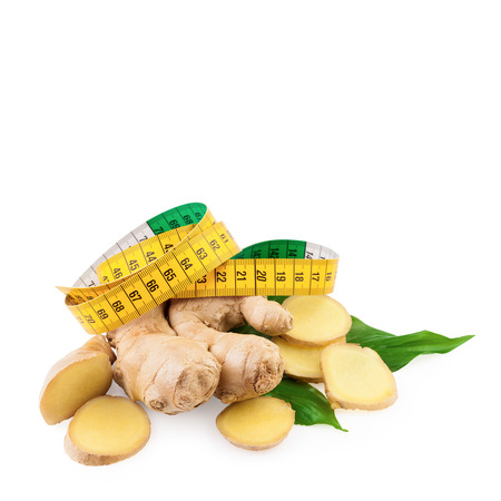 Ginger Diet Concept photo