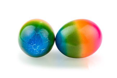 knocking: egg knocking game Stock Photo