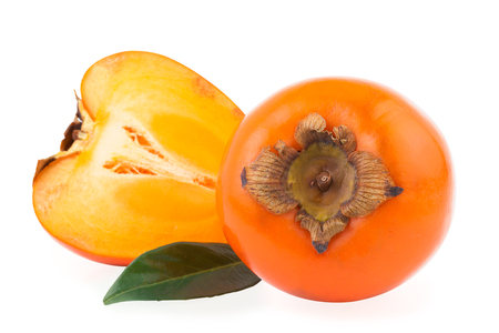 persimmon or kaki fruit