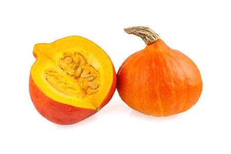 pumpkins red hokkaido Standard-Bild