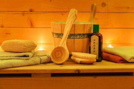 finnish bath: Wooden Sauna and Sauna Set