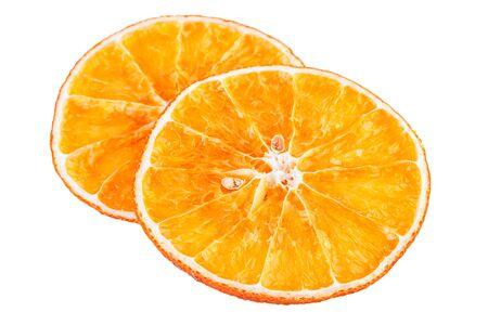 dried orange: Dried Orange Slices Stock Photo