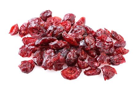 arandanos rojos: Primer arándanos secados Foto de archivo