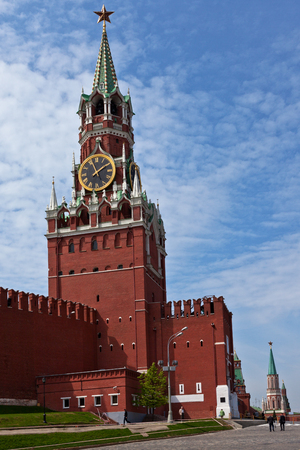 Kremlin Tower, Moscow, Russia