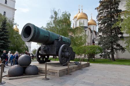 tsar: Tsar Cannon, Kremlin, Moscow, Russia