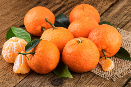 tangerines: Tangerines Fruits Stock Photo