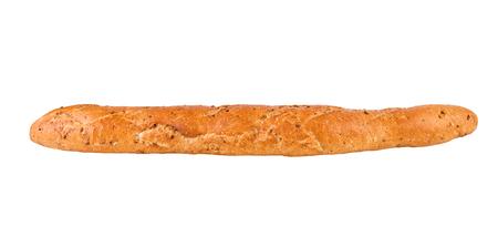 French Baguette diet whole grain baguette Stock Photo