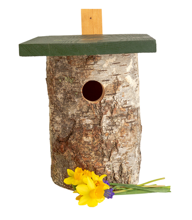 wild bird house tit nestbox