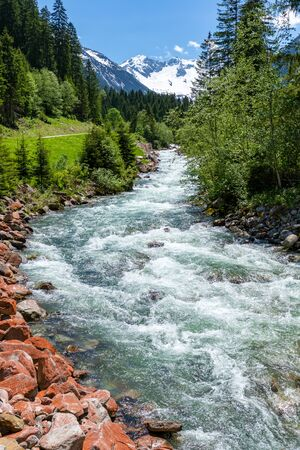 Mountain stream - Austrian Alps