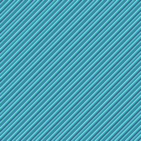Stripe pattern of blue, turquoise and green lines in a diagonal. A seamless pattern that can be used as a background. Çizim
